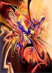 Le papillon plume. Atelier De Chantemerle