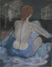 La toilette d'après Toulouse Lautrec.