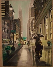 Un soir de pluie à Manhattan. Jean-Pierre Billot
