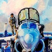Ea-6b Prowler. Alain Bariou
