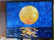 «Full moon iii», 2021. Jornod55