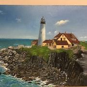 English lighthouse. James Coyne