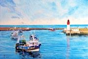 Retour de pêche Le Guilvinec. Alain Bariou