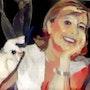 2020-09-09 Michèle. Michel Normand