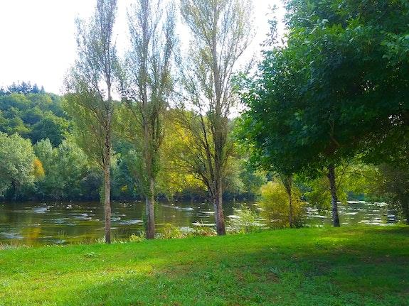 Paisaje de rio. M. Pilar M. Pilar