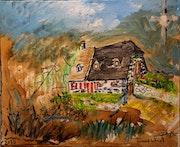 Maison, Cantal. Bernard Vega