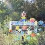 Pont bascule décoré. Marquant Francis