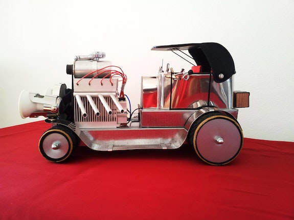 <<Hot rod >>. Thierry Ternisien Artsolite Créations