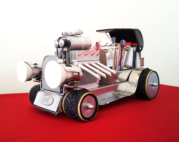 << Hot rod >>. Thierry Ternisien Artsolite Créations