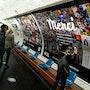Affiche Merci Expo Métro Paris 2020 Chaussée d'Antin La Fayette. Artquid Team