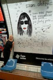 Affiche 12 Expo Métro Paris 2020 Chaussée d'Antin La Fayette.