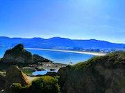 Playa Cobas en Vivero, Lugo.