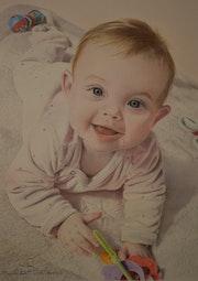 Portrait de Léa.
