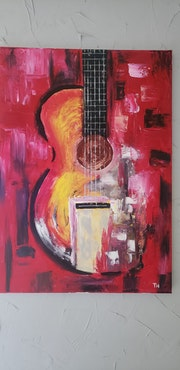 Guitare abstrait. Thierry