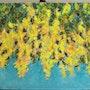 Yellow Flowers. Badria Shamsi