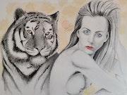 The Tigress. Art By Matei