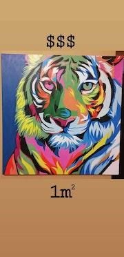 Tigre Multicolor.