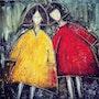Friends. Sophie Kandelaki