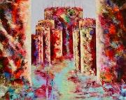 Magma… Artiste peintre Nantes. Anne Sophie Artiste Peintre Nantes