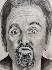 Al Pacino. Art By Matei