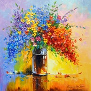 Bouquet of wild flowers. Olhadarchukart
