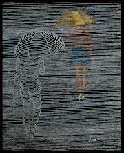 Nuit pluvieuse.