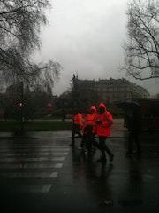 Jour de pluie a Paris. Monica