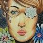 Femme aux plantes. Sophia Force
