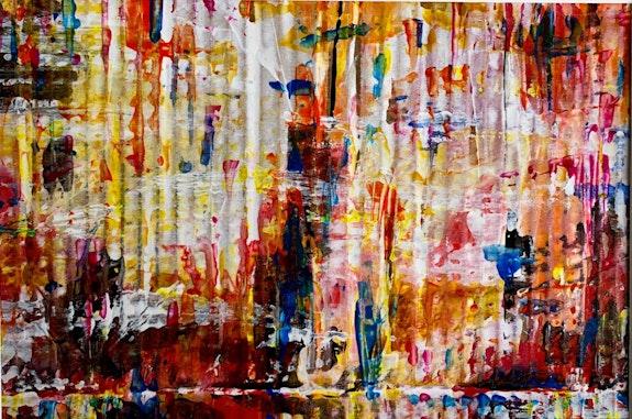 Étude acrylique n3. Richard Nichanian Richard Nichanian