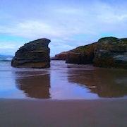 Playa Los Castros, Lugo.