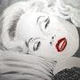 Marilyn Rêve en Noir et Blanc.
