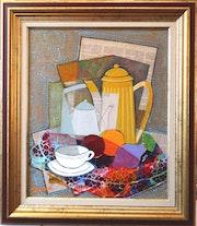 La tasse blanche. Jean-Yves Fromangé