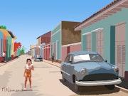 2020-07-31 Cuba-Trinidad. Michel Normand