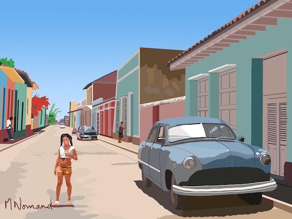 2020-07-31 Cuba-Trinidad. Michel Normand Michel Normand
