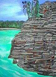 Emerald Lake bc Canada.
