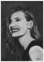Jessica Chastain. Wpascal