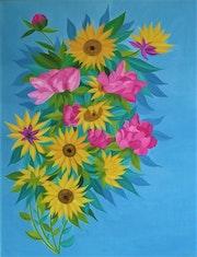 Fleurs déconfinées.
