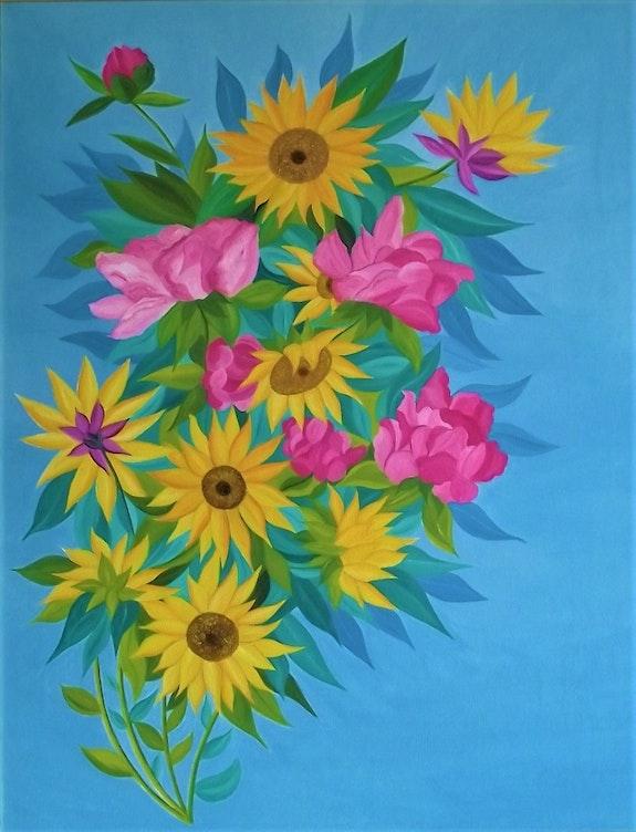 Fleurs déconfinées. Gerard Flohic Gerard Flohic