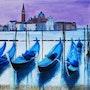 Venise (2020) (2020) Acrylic on canvas. Marine Sansas