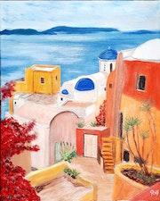 Un petit coin de Gréce. Rey