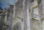 Cathédrale de laon. Jacques Bouquet
