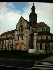 Abbaye de st germer de fly. Monica
