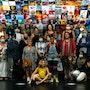 Photo de groupe Expo Métro Paris 2020 Chaussée d'Antin La Fayette. Artquid Team