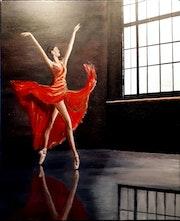 Danseuse en Répétition.