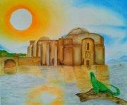 «Templo hundido». Estefani Hernandez