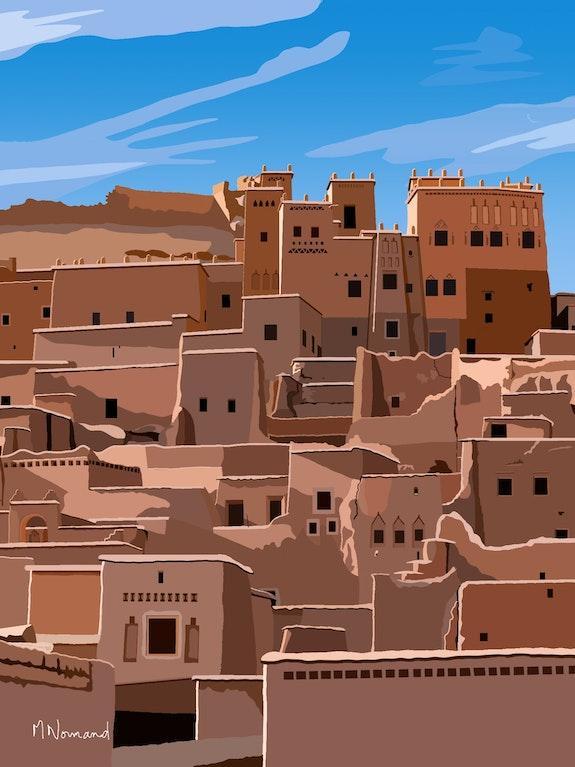 2020-10-04 Maroc-Ouarzazate-Ksar. Michel Normand Michel Normand