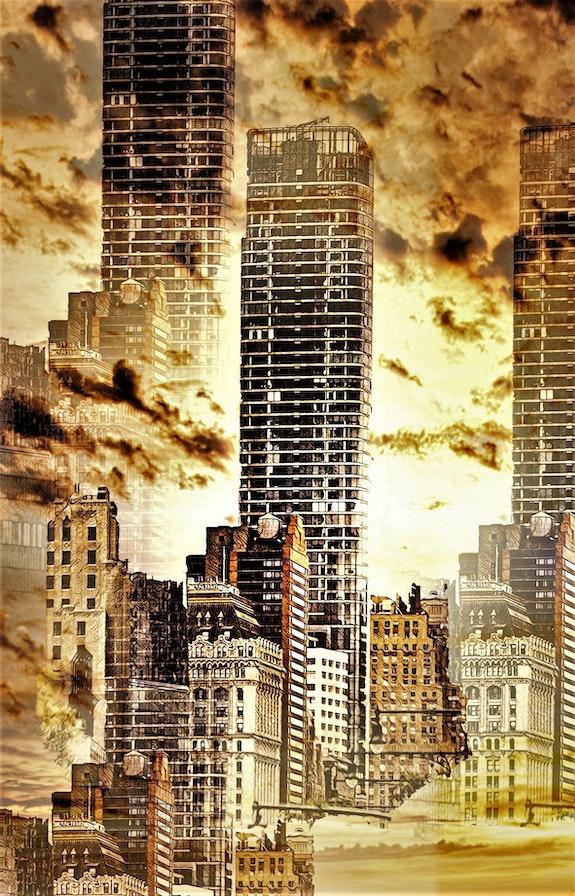 La ville dans les nuages. Hervé Hameury Hervé Hameury