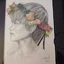Couronne de fleurs. Nicole Norval
