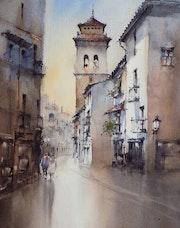 Antigua Calle Elvira, Granada-España.