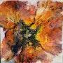 Flowers Abstrait «v». Patricia Vivier Robert » Pat V »